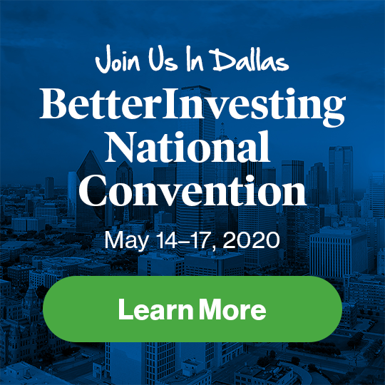 BINC 2020 | Betterinvesting National Convention 2020